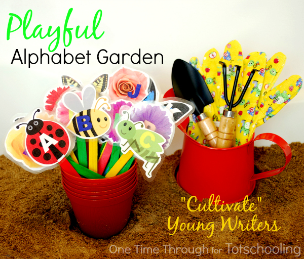 Playful Alphabet Garden