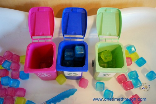 Sorted Waste Cubes