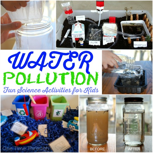 Water Pollution for Kids: Fun Science Activities - One Time Through