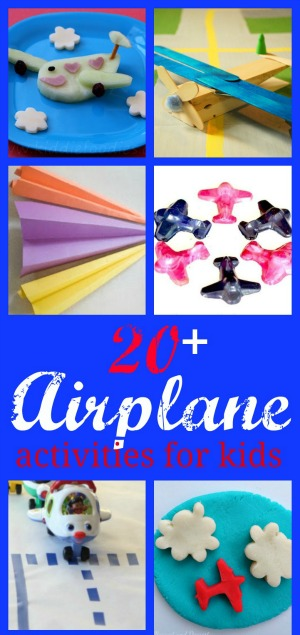20+ Airplane Activities Pin