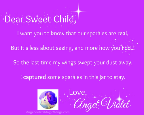 Angel Violet Letter
