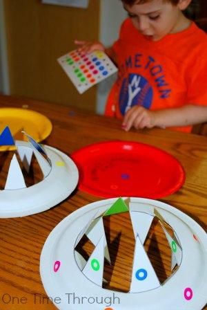 Decorating Frisbees