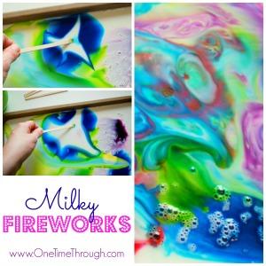 Milky Fireworks