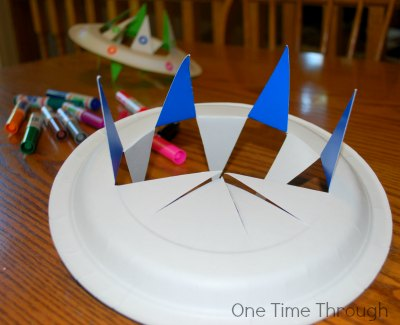 Folding Flying Saucer Toy