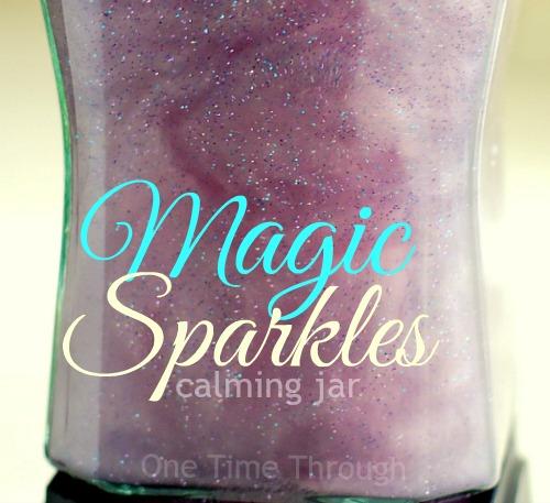Magic Sparkles Calming Jar
