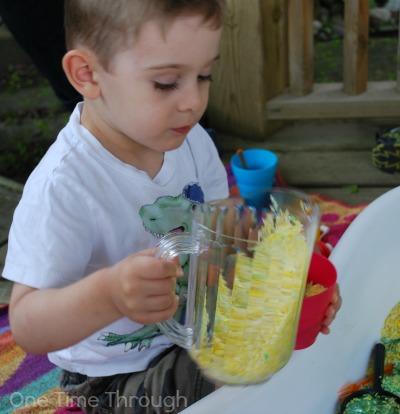 Pouring Lemonade