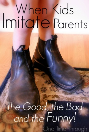 When Kids Imitate Parents
