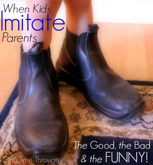 When Kids Imitate Parents