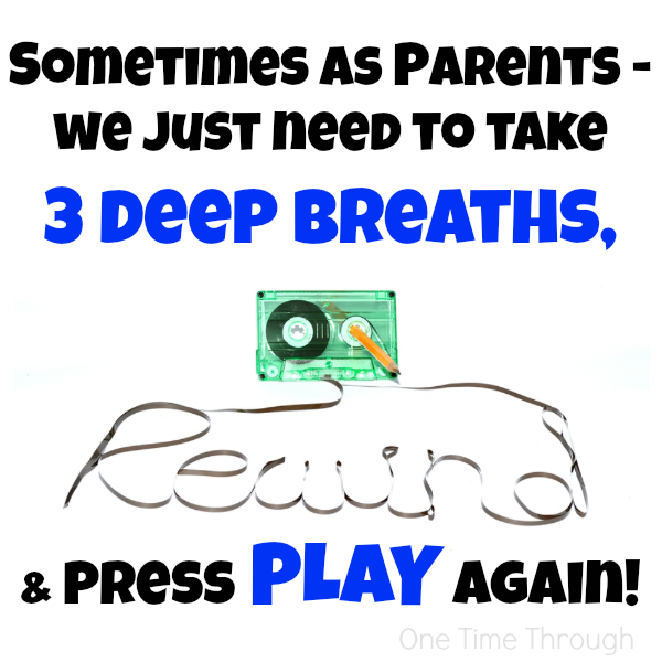 3 deep breaths