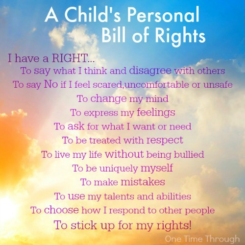 A-Childs-Personal-Bill-of-Rights