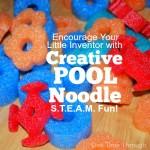 Creative Pool Noodle Steam Fun