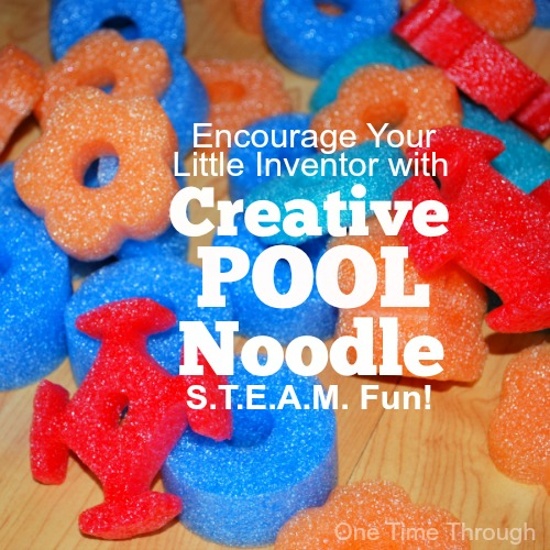 Creative Pool Noodle Steam Fun