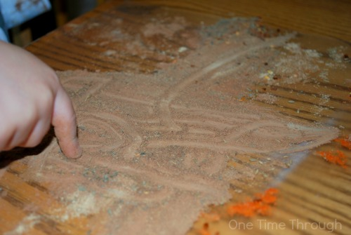 Drawing in Spices