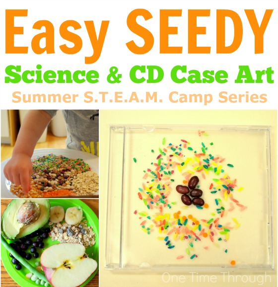 Easy Seedy Science and CD Art