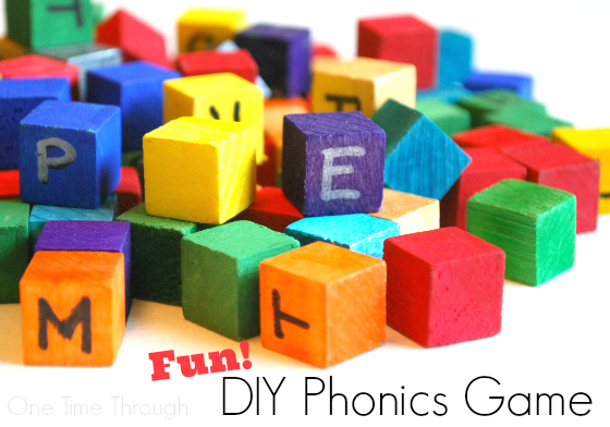 Fun DIY Phonics Game
