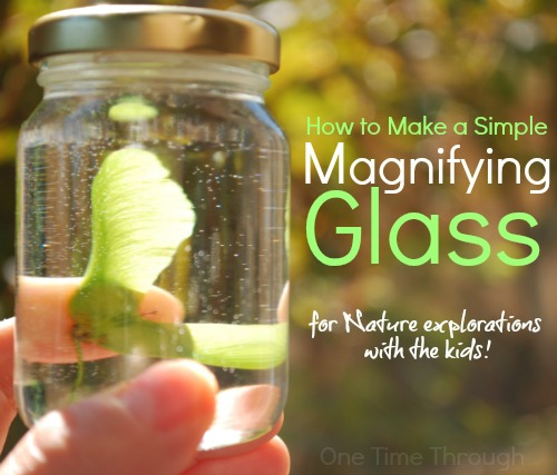 How to Make a Magnifying Glass