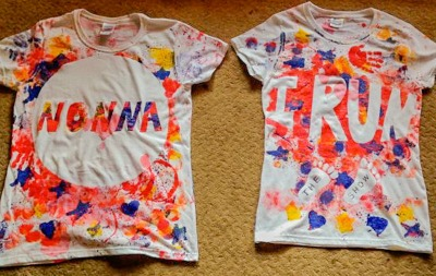 Painted T-shirts