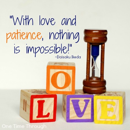 With Love and Patience