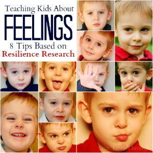 Feelings Faces Collage