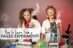 How to Learn from a Failed Experiment