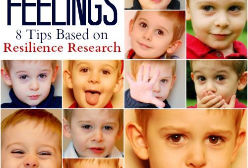 Teaching Kids to Accept Feelings