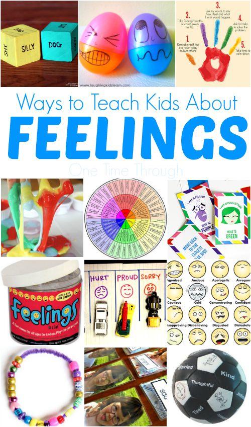 Ways to Teach Kids About Feelings