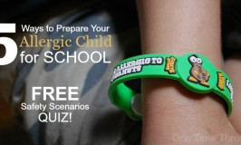5 Ways to Prepare Your Allergic Child to Be Safe at School