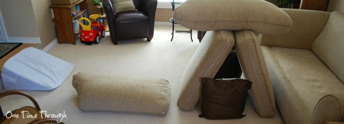 Couch Cushion Bridges