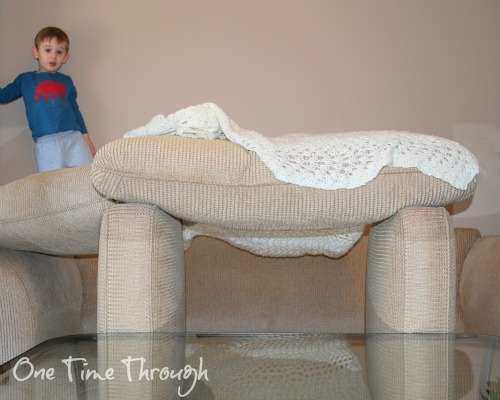 Couch Cushion Forts and Jails