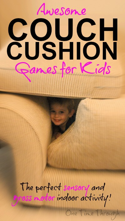 Couch Cushion Games for Kids