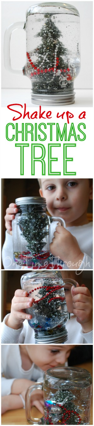 Shake Up a Christmas Tree Blog Pin