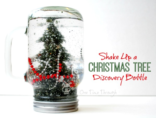 Shake Up a Christmas Tree Discovery Bottle