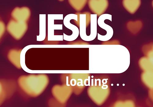 Loading Jesus