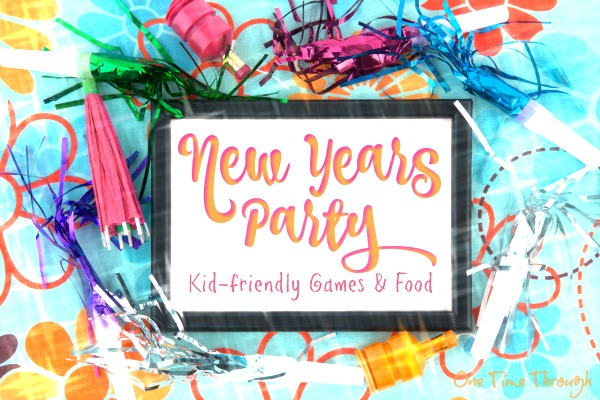 Family New Years Party Games