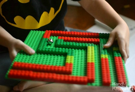 Lego Jingle Bells Maze