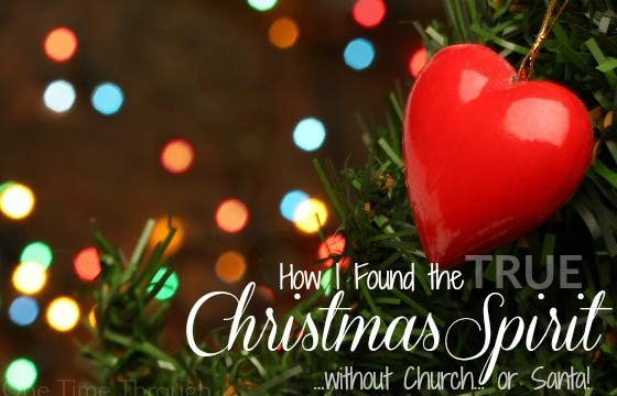How to Find the True Christmas Spirit without Church