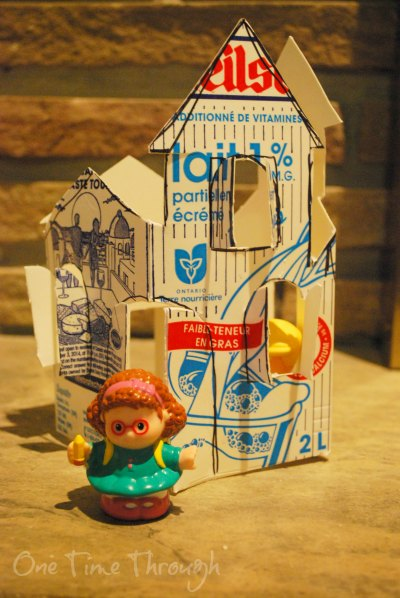 Milk Carton House