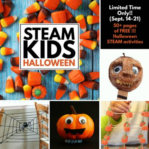 Steam Kids Halloween Book Cover