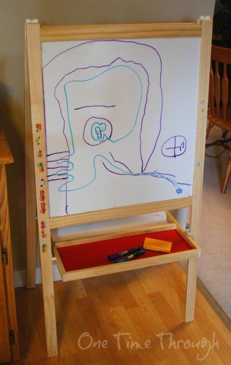 standup easel art
