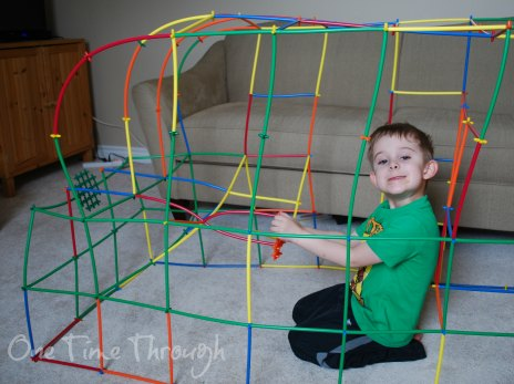 building a car out of straws