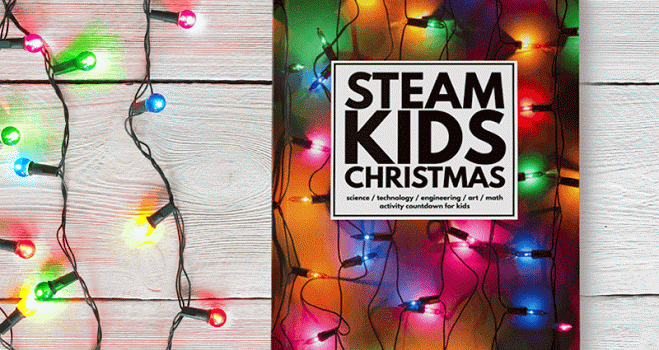 Keep the Kids Learning with STEAM Kids Christmas Book
