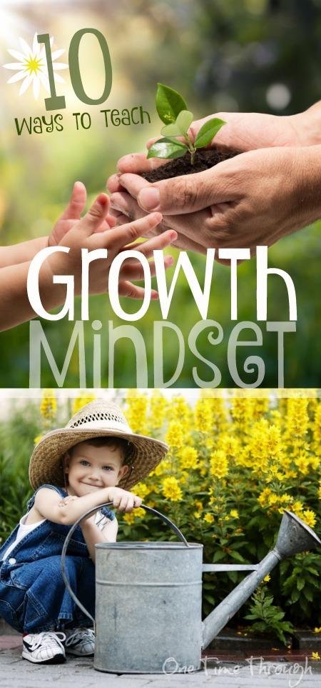 10 Ways to Teach Growth Mindset