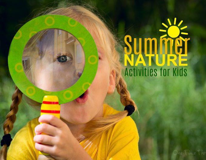 Summer Nature Activities for Kids