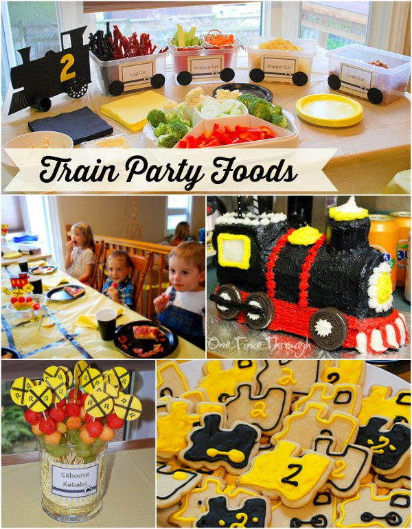 Train Party Foods