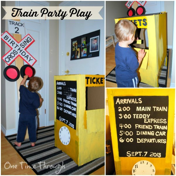 Train Party Play Station