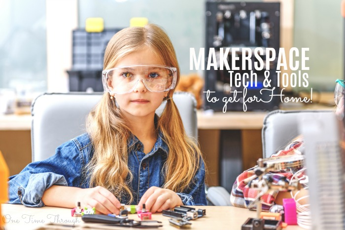 Makerspace Tech and Tools for Home
