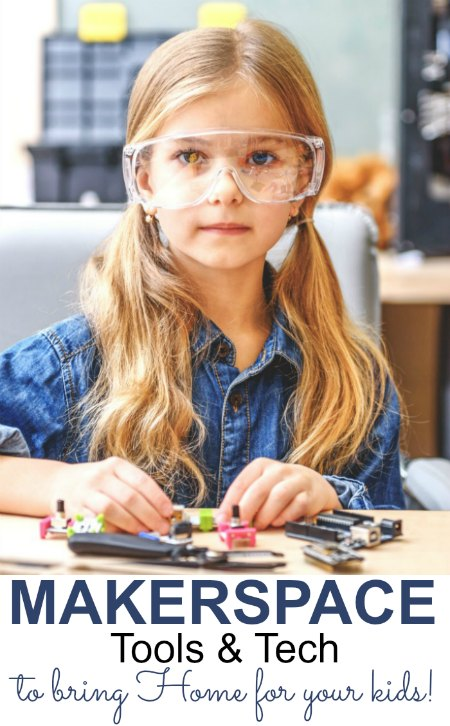 Makerspace Tools and Tech pin