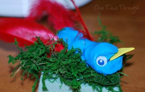 Bluebird Red Wings