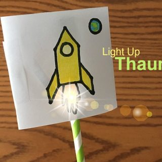Light Up Thaumatrope