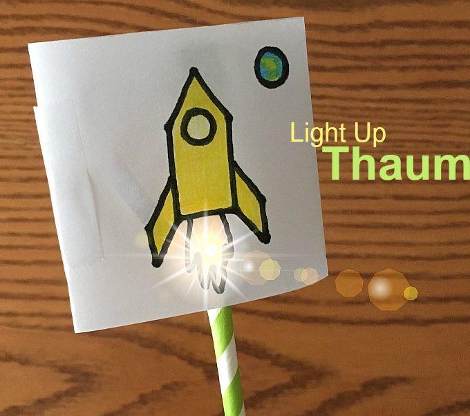 Light Up Thaumatrope